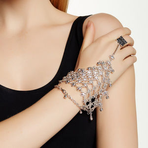 Jewelry - SALE! Boho Hand Cage Bracelet With Ring.